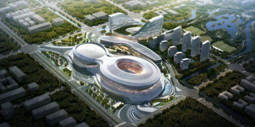 Año nuevo, Nueva Jornada. La construcción del estadio deportivo de los Juegos Universitarios del Mundo vuelve a la