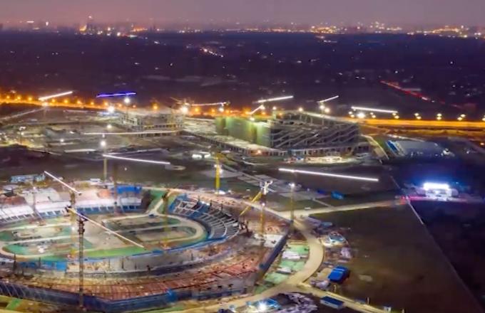 Les remarquables résultats de la construction des sites des Jeux mondiaux universitaires