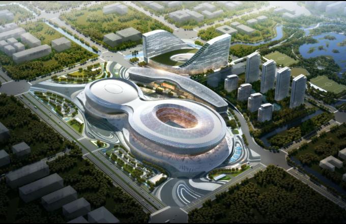 ¡Enfócate en el centro deportivo de la Montaña Fénix! ¿Cómo se construye un estadio central de los Juegos Mundiales Universitarios de Chengdu?
