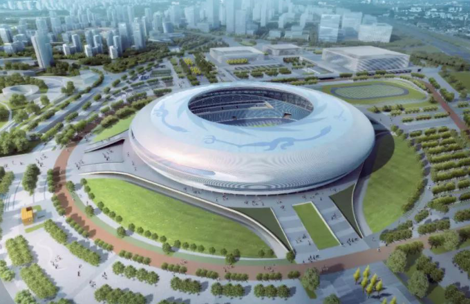 Entering the Steel Structure Construction Stage, the Dong'an Lake Sports Park Is About to Impress the World