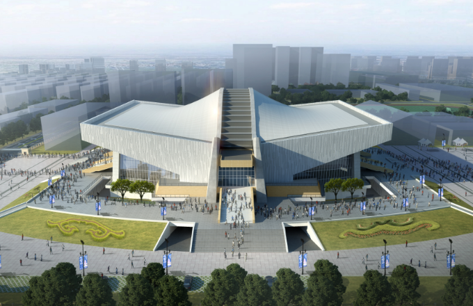 Sichuan Gymnasium, The Basketball Warm-up & Competition Venue, Starts Its Renovation