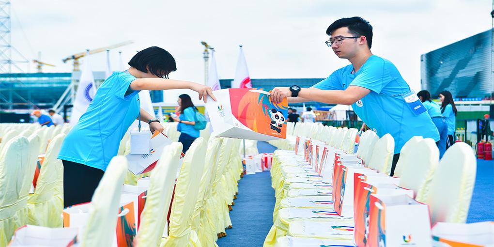 Number of Volunteers Registered of the 2021 FISU WUG Exceeds 690,000